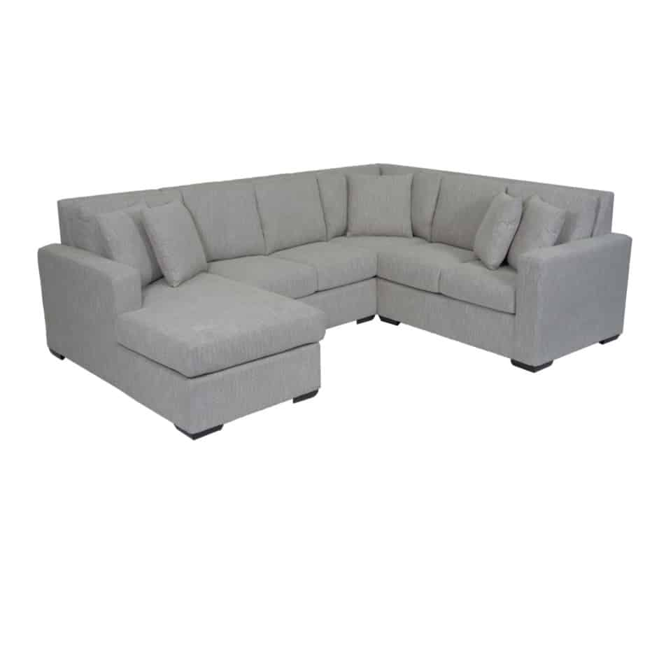 1517 sectional, upholstered, sofa, loveseat, chair, made in canada, canadian made, upholstery, custom, custom furniture, living room furniture, custom order, choose your fabric, sectional, custom sectional, chaise