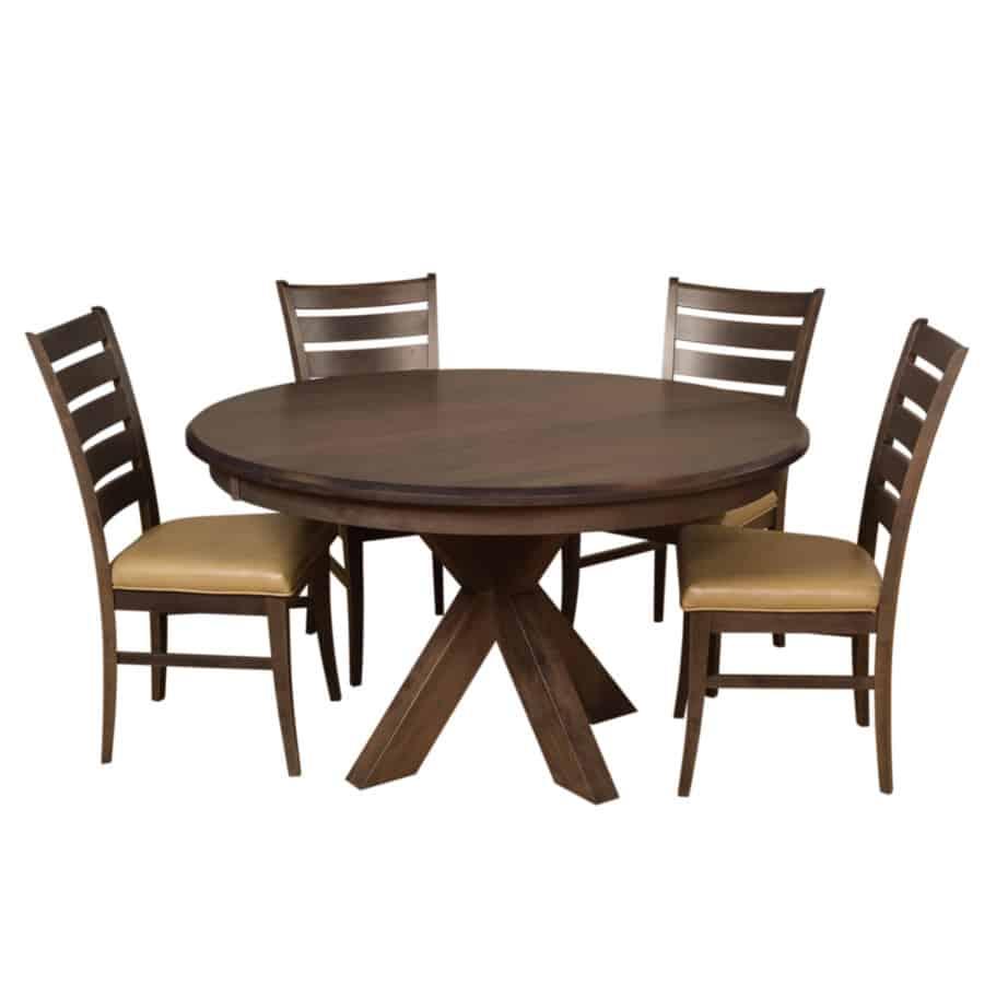 Austin Round Table Prestige Solid Wood Furniture Port