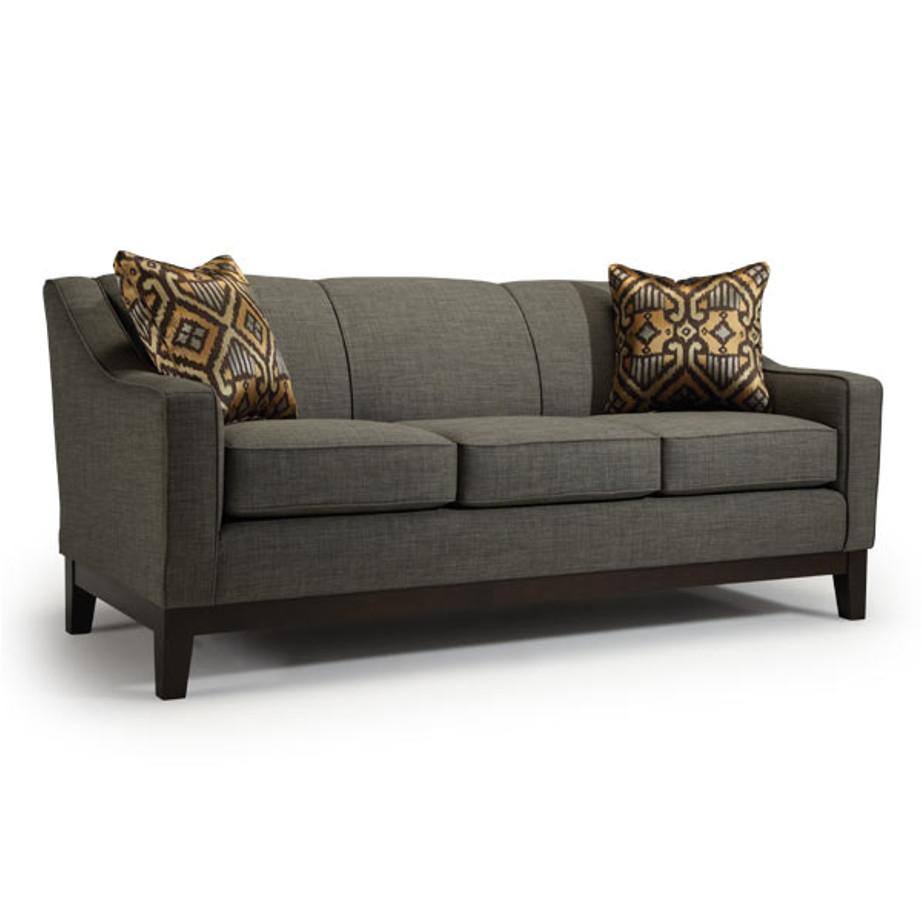 Emeline Track Arm sofa, best home furnishings, custom sofa, customizable sofa, wood frame sofa, modern sofa,