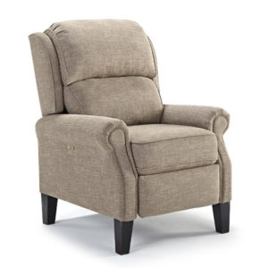 joanna recliner, Living Room, Recliners, best home furnishings, custom chair, high leg, leather, motion, power, power tilt headrest, recliner, traditional, fabric, top grain leather, North America Made, living room ideas, Joanna