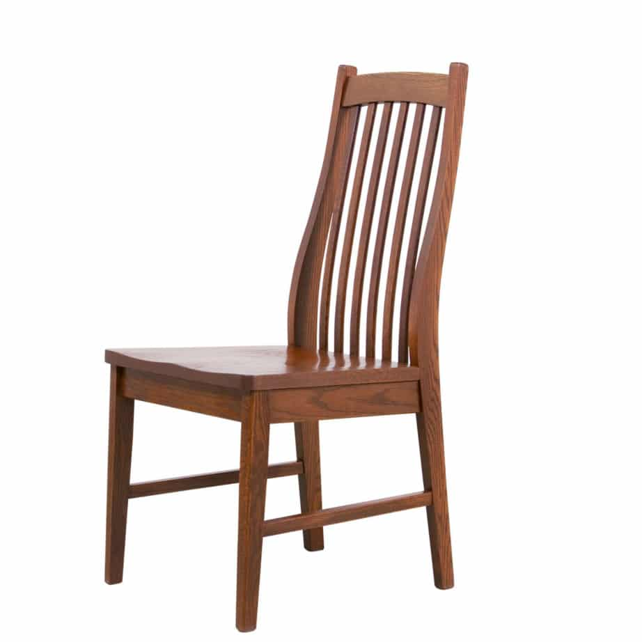 Mission Dining Chair Room Furniture Solid Wood Oak