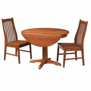 drop leaf table, Dining room, dining room furniture, solid wood, solid oak, solid maple, custom, custom furniture, dining table, dining chair, made in Canada, Canadian made