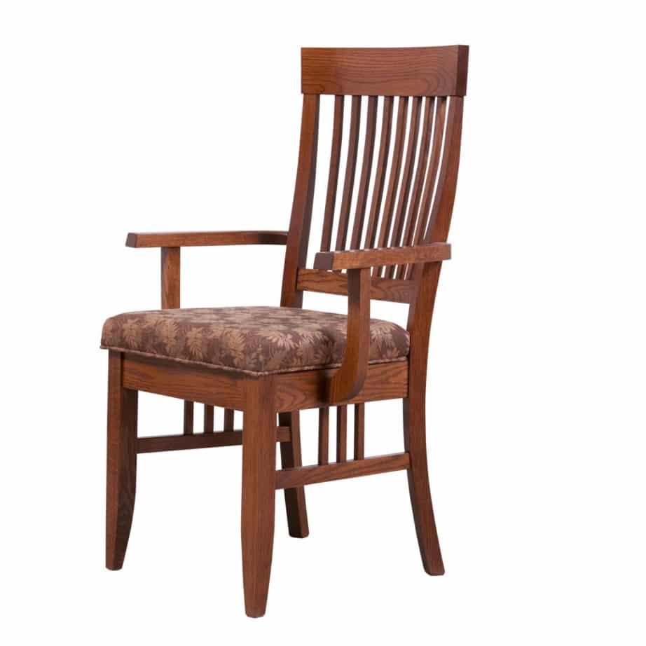 Shaker Arm Chair Dining Room Furniture Solid Wood Oak