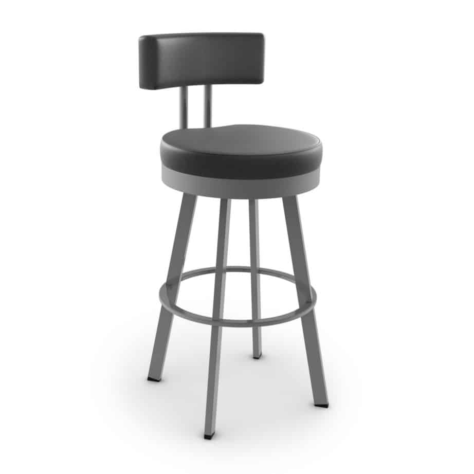 barry stool, bar height stool, bar height, counter height, counter height stool, custom furniture, made in canada, canadian made, solid wood, kitchen, dining room, kitchen furniture, dining room furniture, metal, custom, customizable, swivel stool
