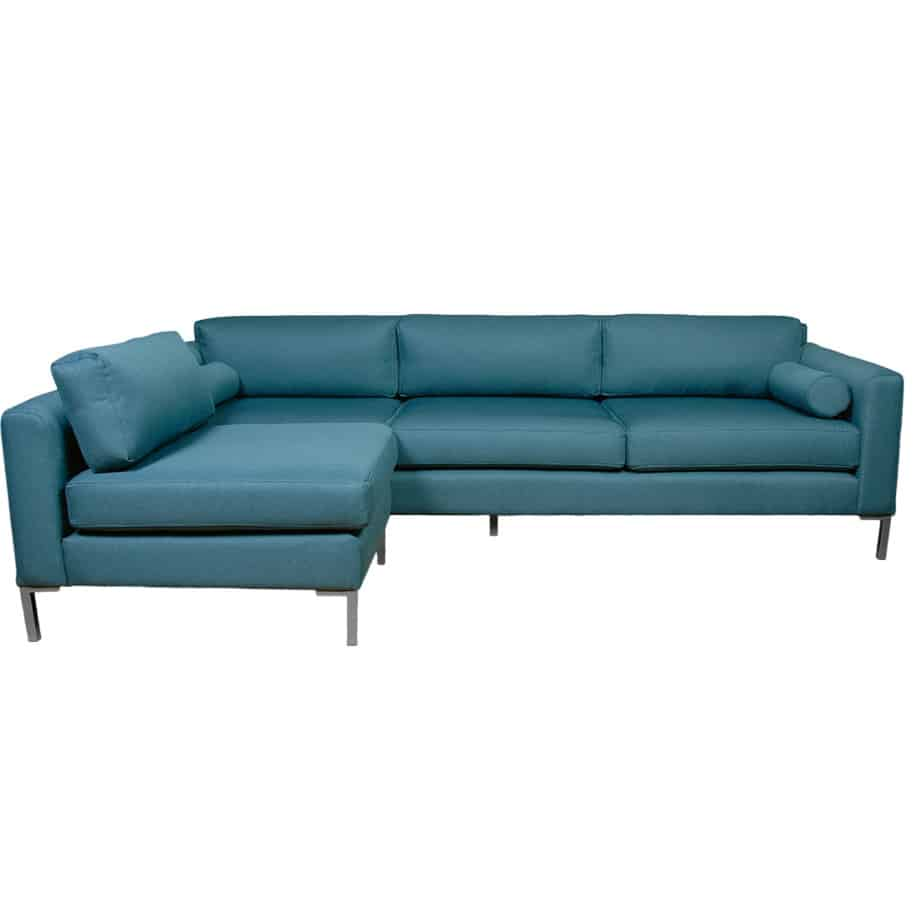 bosley sectional, upholstered, sofa, loveseat, chair, made in canada, canadian made, upholstery, custom, custom furniture, living room furniture, custom order, choose your fabric, sectional, custom sectional, chaise