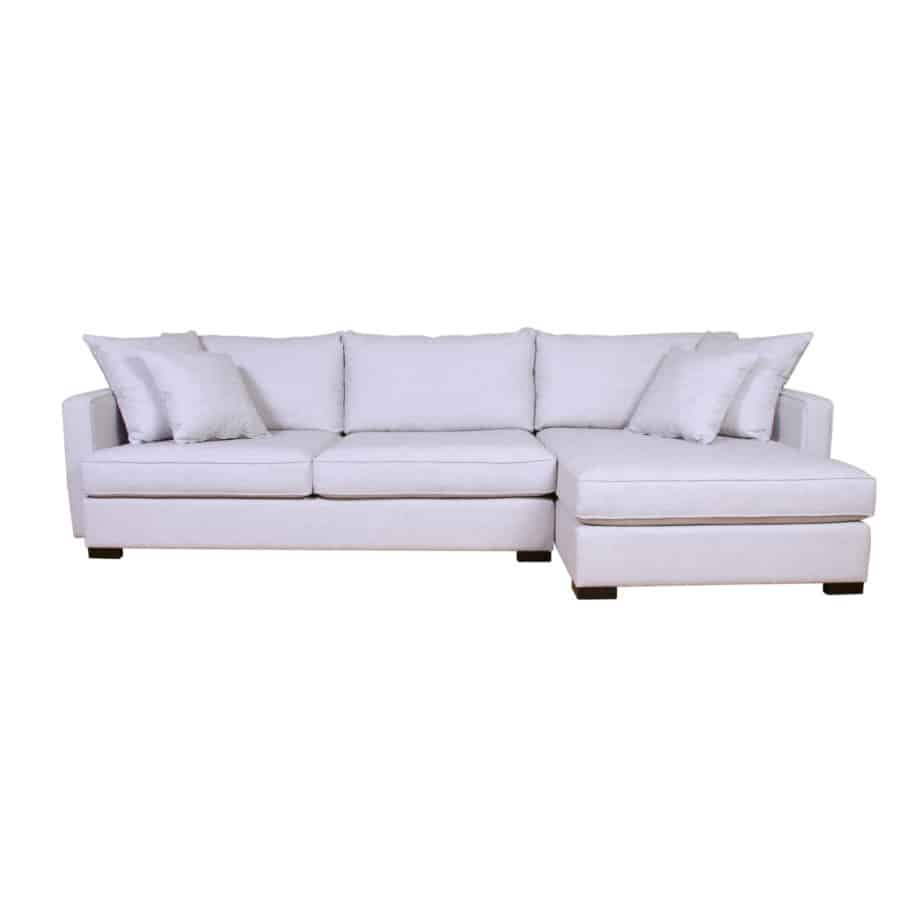 crosby sectional, upholstered, sofa, loveseat, chair, made in canada, canadian made, upholstery, custom, custom furniture, living room furniture, custom order, choose your fabric, sectional, custom sectional, chaise