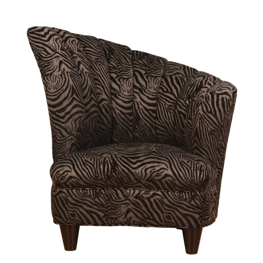 emily fan chair, Upholstered, chair, made in canada, canadian made, upholstery, custom, custom furniture, living room furniture, custom order, choose your fabric, sectional, custom sectional, accents, accent chair, accent fabrics
