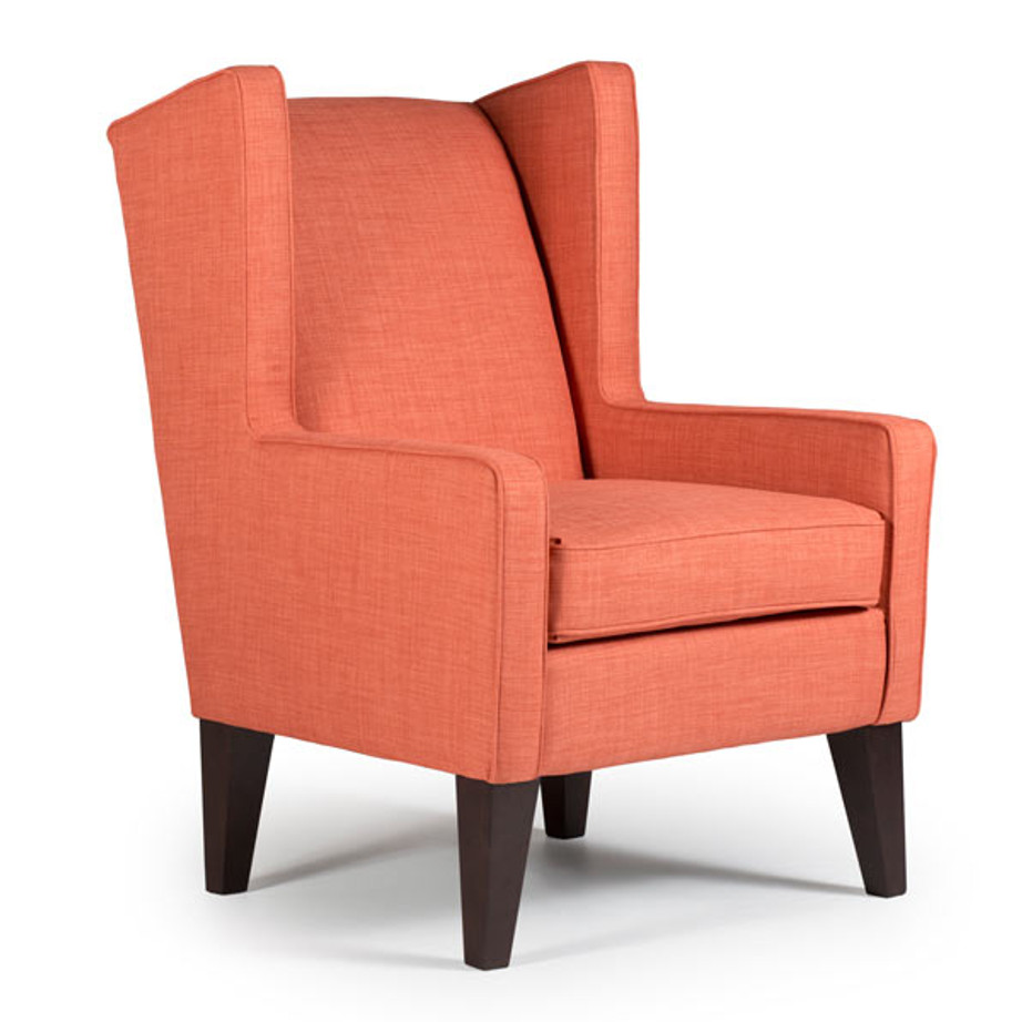 karla wing chair, Upholstered, chair, upholstery, custom, custom furniture, living room furniture, custom order, choose your fabric, sectional, custom sectional, accents, accent chair, accent fabrics