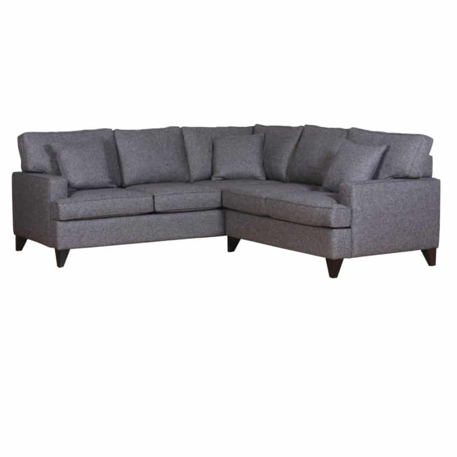 lloyd sectional, upholstered, sofa, loveseat, chair, made in canada, canadian made, upholstery, custom, custom furniture, living room furniture, custom order, choose your fabric, sectional, custom sectional