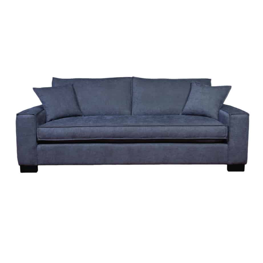 maddox sofa, upholstered, sofa, loveseat, chair, made in canada, canadian made, upholstery, custom, custom furniture, living room furniture, custom order, choose your fabric
