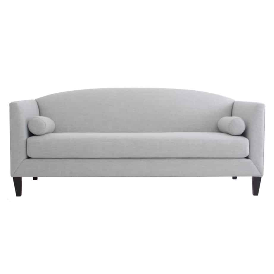 penelope sofa, upholstered, sofa, loveseat, chair, made in canada, canadian made, upholstery, custom, custom furniture, living room furniture, custom order, choose your fabric