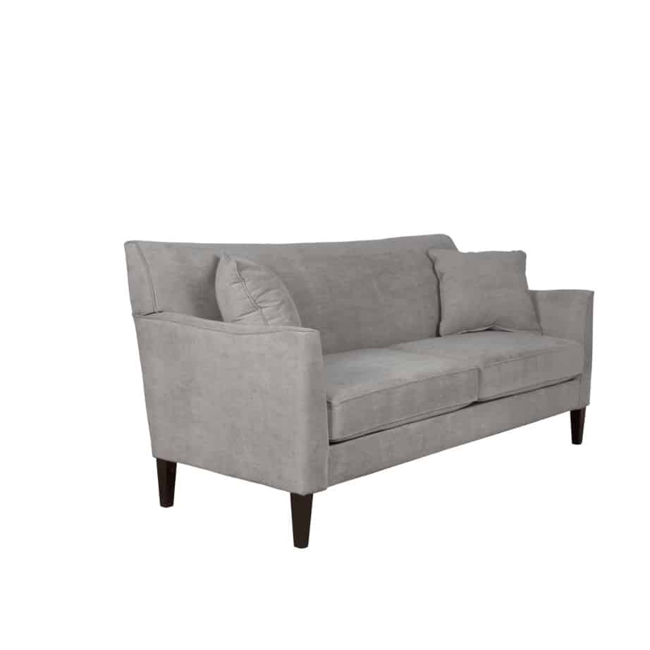 upholstered, sofa, loveseat, chair, made in canada, canadian made, upholstery, custom, custom furniture, living room furniture, custom order, choose your fabric