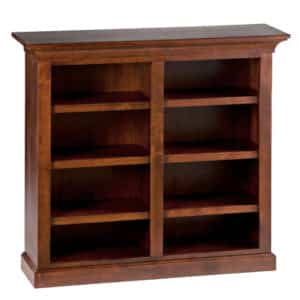 Canterbury Bookcase B, Bookcase, small Bookcase, wooden furniture, solid wood, made in Canada