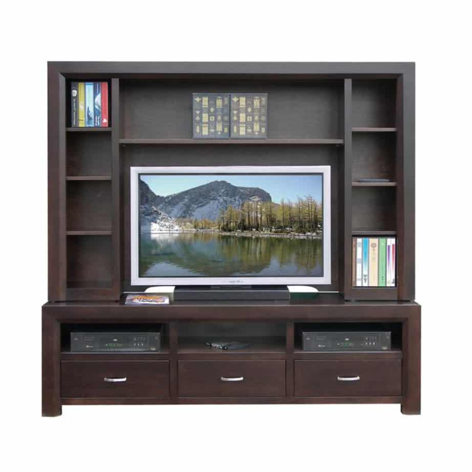 contempo wall unit, Entertainment, TV Consoles, contemporary, custom cabinet, HDTV, made in canada, maple, modern, oak, rustic, solid wood, tv, other Sizes Available, Glass, Simple, Living Room, Studio TV Console, storage ideas, custom, wall unit, contempo