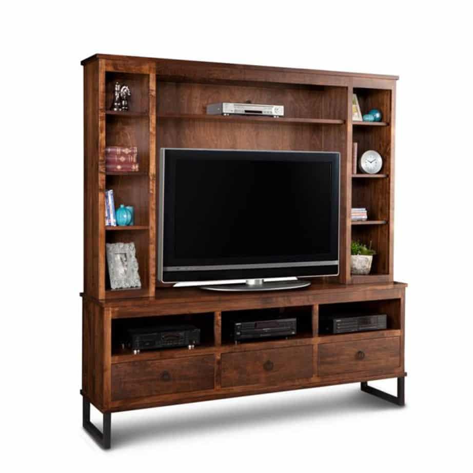 Cumberland Wall Unit Prestige Solid Wood Furniture