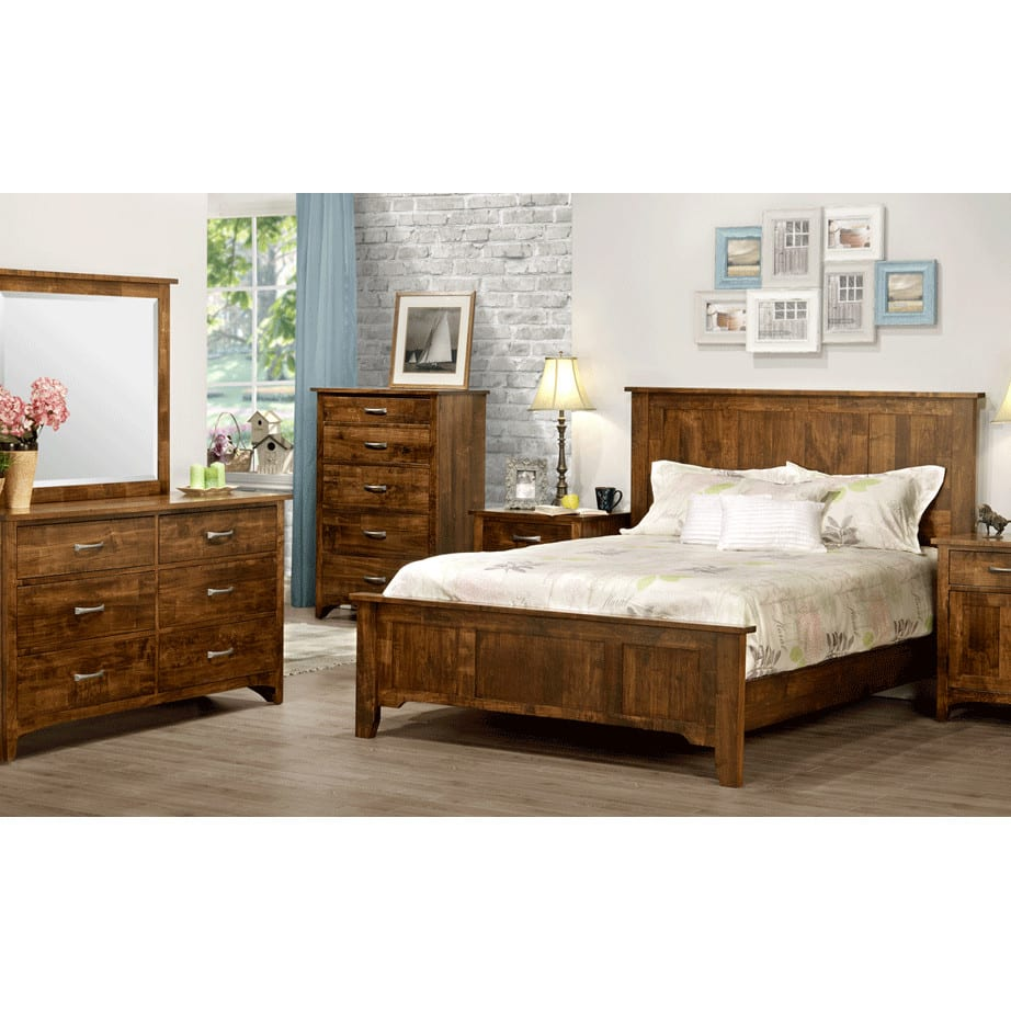 Glen Garry Bedroom, Glen Garry, cherry, distressed, made in canada, maple, master bedroom, oak, rustic, solid wood, handstone, modern, rustic, straight lines, blocky, unique, modern, amish style furniture, contemporary, handmade, rustic, distressed, simple, customizable, Solid Rustic Maple, bedroom ideas