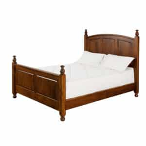 Hampton Bed, bedroom, bedroom furniture, occasional, occasional furniture, solid wood, solid oak, solid maple, custom, custom furniture, bed