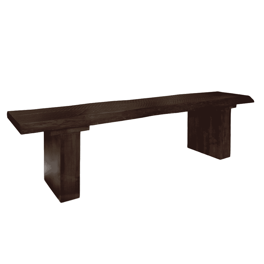 live edge bench, solid wood bench, live edge bench, custom built bench, rustic wood bench, solid maple bench, ruff sawn bench