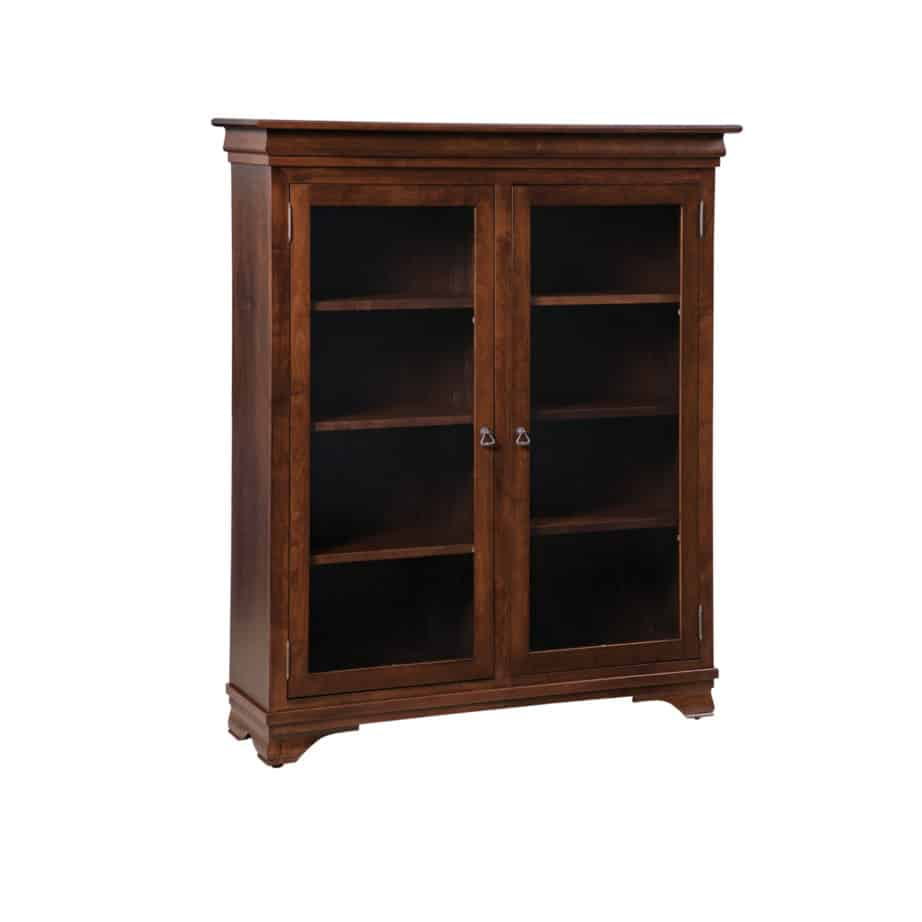 morgan office bookcase, Solid wood, maple, oak, organize, organization, organizer, custom, furniture, custom furniture, solid maple, solid oak, office, home office, office furniture, storage, storage ideas, shelf, shelving, bookshelf, bookcase, display, library, home library