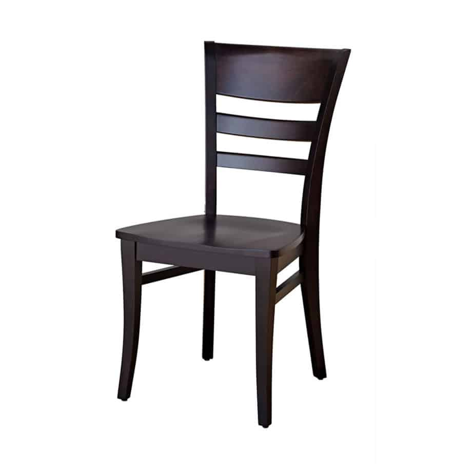 malia dining chair, dining room, dining chair, custom, custom furniture, custom built, solid wood, wood, solid maple, solid oak, maple, oak, upholstered, upholstered seat, upholstered dining chair, fabric seat, wooden seat