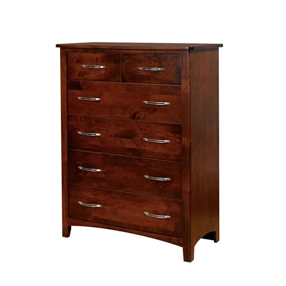metro chest, bedroom, bedroom furniture, wood, solid wood, maple, oak, solid maple, solid oak, made in Canada, custom, custom furniture, chest, storage ideas, bedroom storage