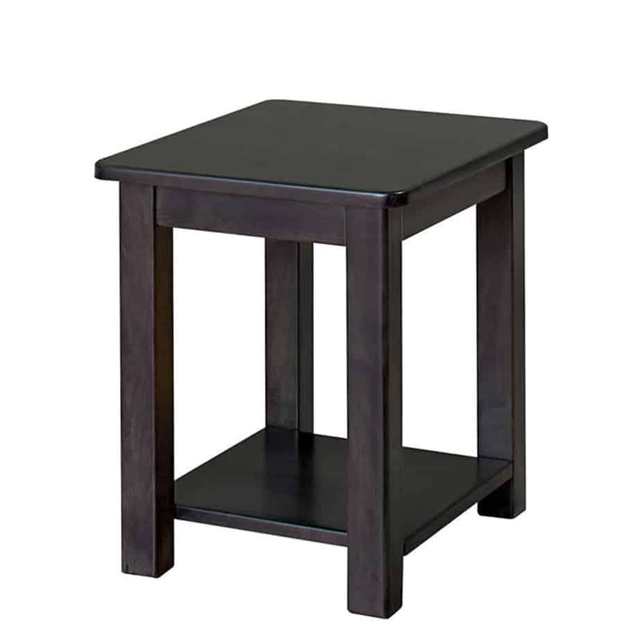 metro end table, living room, end table, accent table, custom, custom furniture, custom built, solid wood, wood, solid maple, solid oak