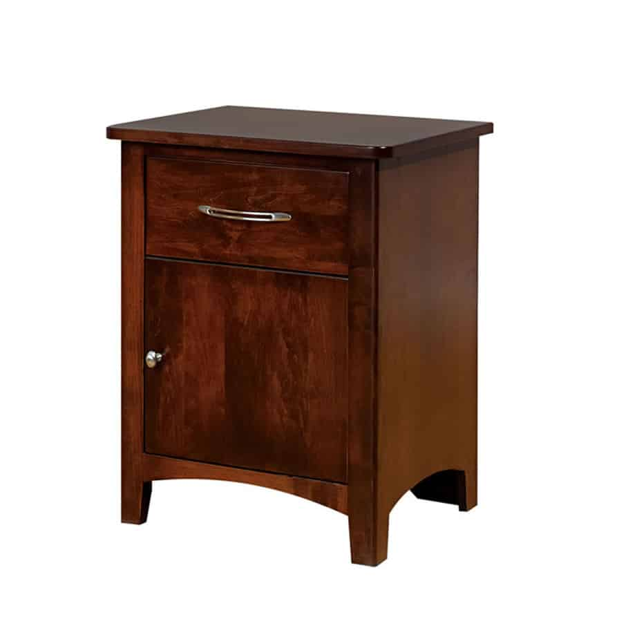 bedroom, bedroom furniture, wood, solid wood, maple, oak, solid maple, solid oak, made in Canada, custom, custom furniture, nightstand