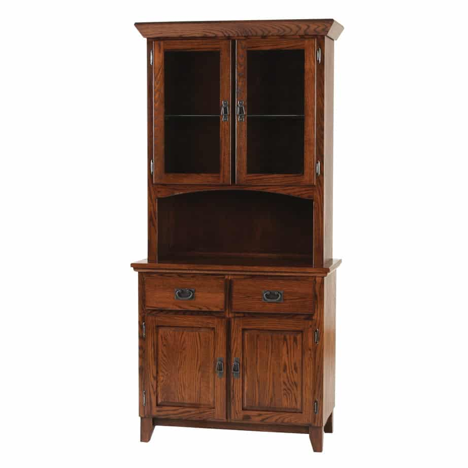 Mission 2 Door Buffet And Hutch Dining Room Furniture Occasional
