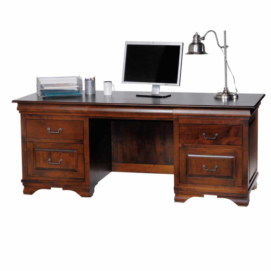 morgan executive desk, Solid wood, maple, oak, organize, organization, organizer, drawers, drawer, custom, furniture, custom furniture, solid maple, solid oak, office, home office, office furniture, desk, computer desk, writing desk, storage, storage ideas