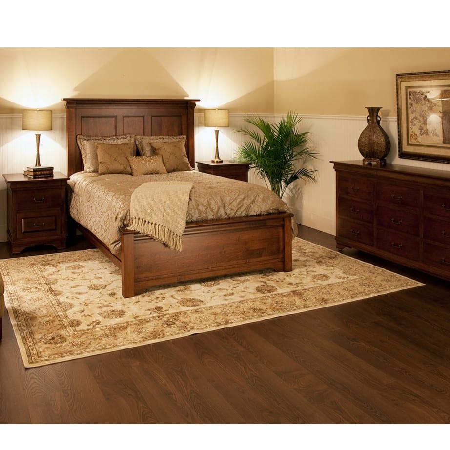 Morgan Panel Bed - Prestige Solid Wood Furniture | Port Coquitlam, BC