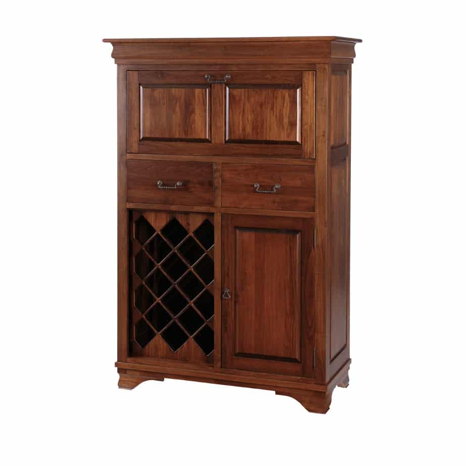 , Dining room, dining room furniture, occasional, occasional furniture, solid wood, solid oak, solid maple, custom, custom furniture, storage, storage ideas, dining cabinet, sideboard, wine, wine cabinet, morgan small bar cabinet