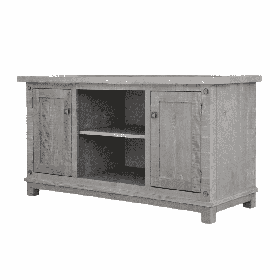 Entertainment, TV Consoles, contemporary, custom cabinet, distressed, drawers, glass doors, industrial, made in canada, maple, modern, ruff sawn, rustic, solid wood, Muskoka TV Console, craftsman furniture, amish style furniture, contemporary, handmade, rustic, distressed, simple, customizable, Solid Rustic Maple,