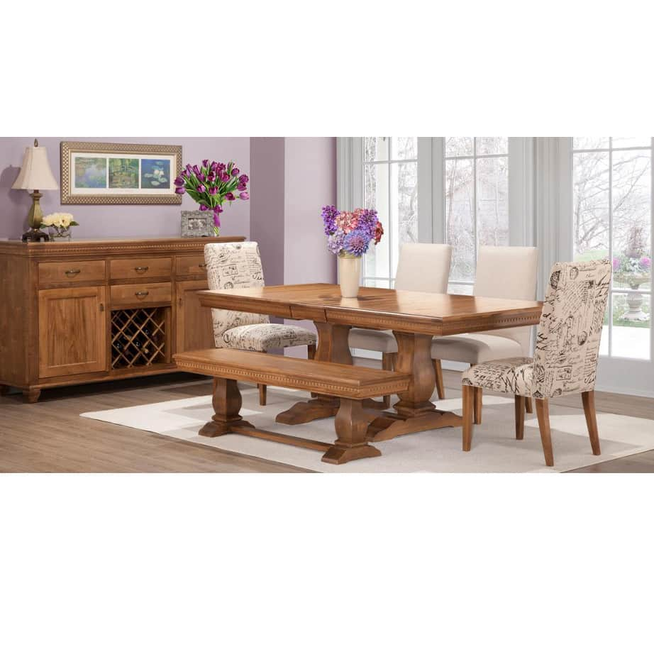 Provence Trestle Table Prestige Solid Wood Furniture