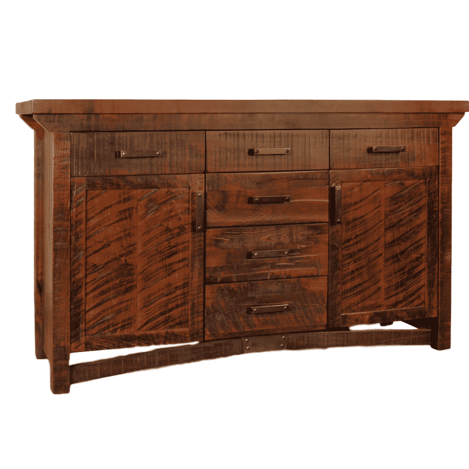 Dining Room, Cabinets, Storage Cabinets, contemporary, custom cabinet, distressed, drawers, industrial, made in canada, maple, modern, ruff sawn, rustic, solid wood, dining room ideas, amish style furniture, contemporary, storage ideas, unique, Dining room ideas, Rustic Carlisle Sideboard
