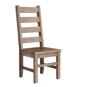 sequoia dining chair, solid wood dining chair, rustic wood dining chair, ruff sawn chair, canadian made chair, sequoia chair