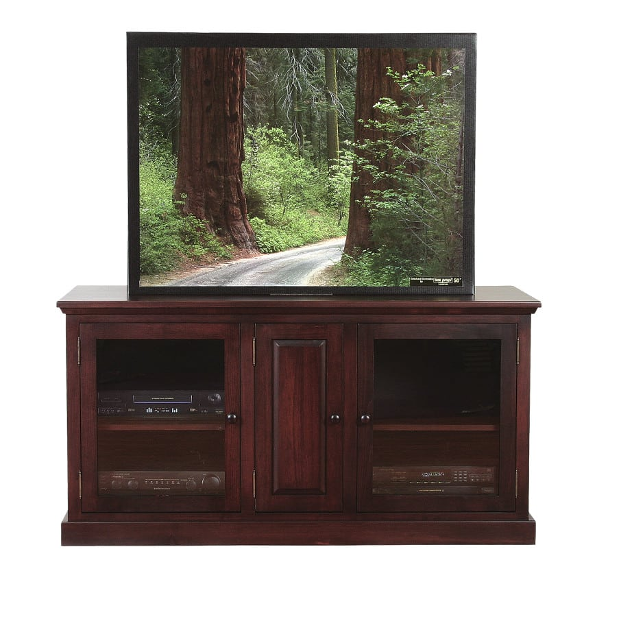 shaker 60 tv console, Entertainment, TV Consoles, contemporary, custom cabinet, HDTV, made in canada, maple, modern, oak, rustic, solid wood, tv, other Sizes Available, Glass, Simple, Living Room, Studio TV Console, storage ideas, custom, Shaker 60Tv console A