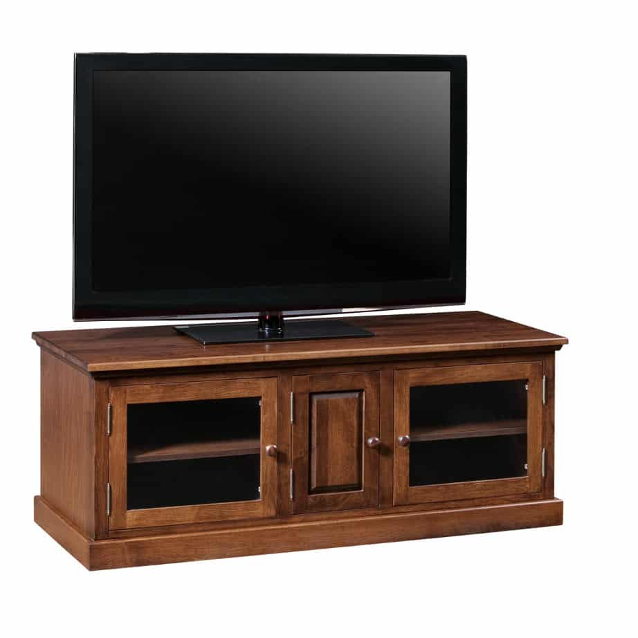 Entertainment, TV Consoles, contemporary, custom cabinet, HDTV, made in canada, maple, modern, oak, rustic, solid wood, tv, other Sizes Available, Glass, Simple, Living Room, Studio TV Console, storage ideas, custom, Shaker 60TV console