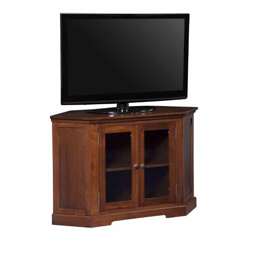 Entertainment, TV Consoles, contemporary, custom cabinet, HDTV, made in canada, maple, modern, oak, rustic, solid wood, tv, other Sizes Available, Glass, Simple, Living Room, Studio TV Console, storage ideas, custom, Stanford Corner Tv console