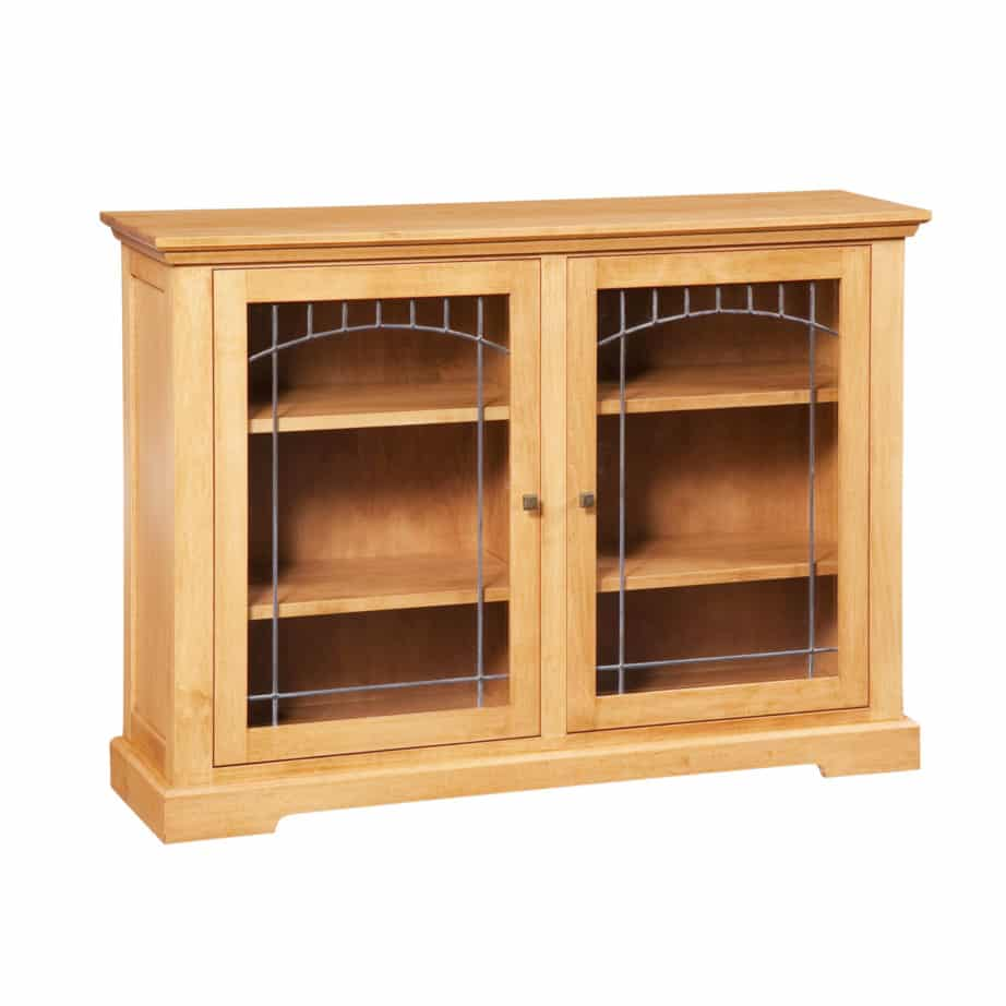 stanford den bookcase, Solid wood, maple, oak, organize, organization, organizer, custom, furniture, custom furniture, solid maple, solid oak, office, home office, office furniture, storage, storage ideas, shelf, shelving, bookshelf, bookcase, display, library, home library