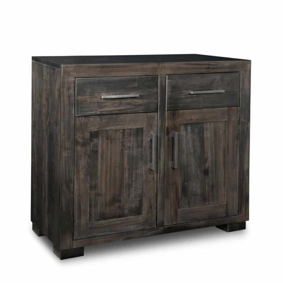 Steel city small sideboard,small sideboard,steel city, sideboard, small furniture, dining room furniture,made in canada, built to order , rustic finishes, oak ,maple , handmade rustic, distressed look