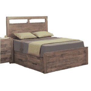 Steel City Storage Bed, Steel City Storage Bed, Beds, cherry, distressed, drawers, made in canada, maple, master bedroom, oak, rustic, solid wood, storage bed, modern, unique, bedroom ideas, blocky, handstone
