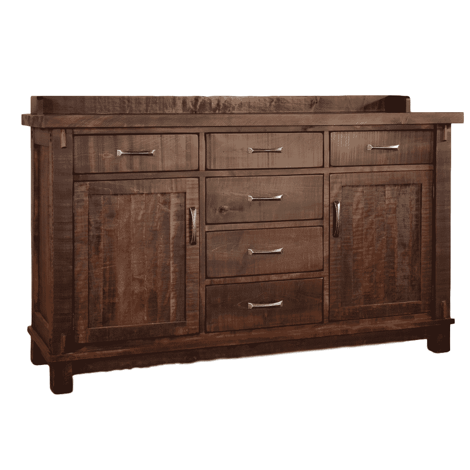 Dining Room, Cabinets, Storage Cabinets, contemporary, custom cabinet, distressed, drawers, handstone, industrial, made in canada, maple, modern, ruff sawn, rustic, solid wood, amish style furniture, contemporary, storage ideas, unique, Dining room ideas, Timber Sideboard