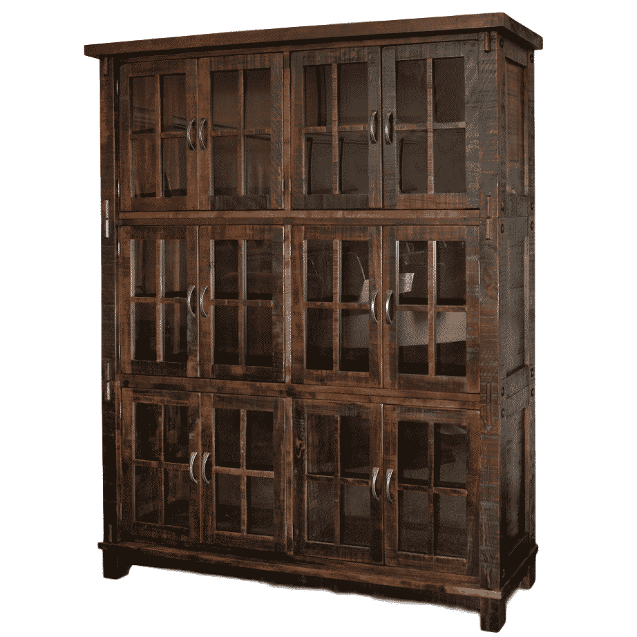 Dining Room Cabinets Display Wall Units Contemporary Custom Cabinet Distressed