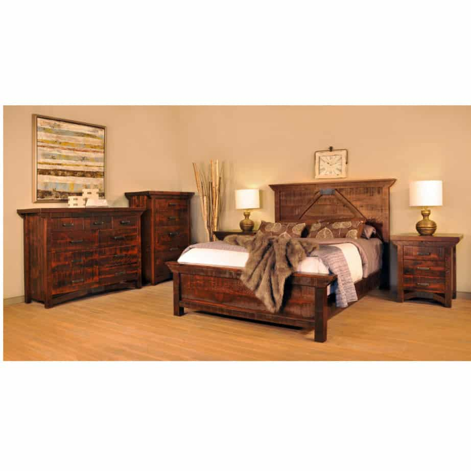 solid wood bedroom furniture, canadian made bedroom furniture, ruff sawn bedroom furniture, master bedroom furniture, canadian made, custom built furniture