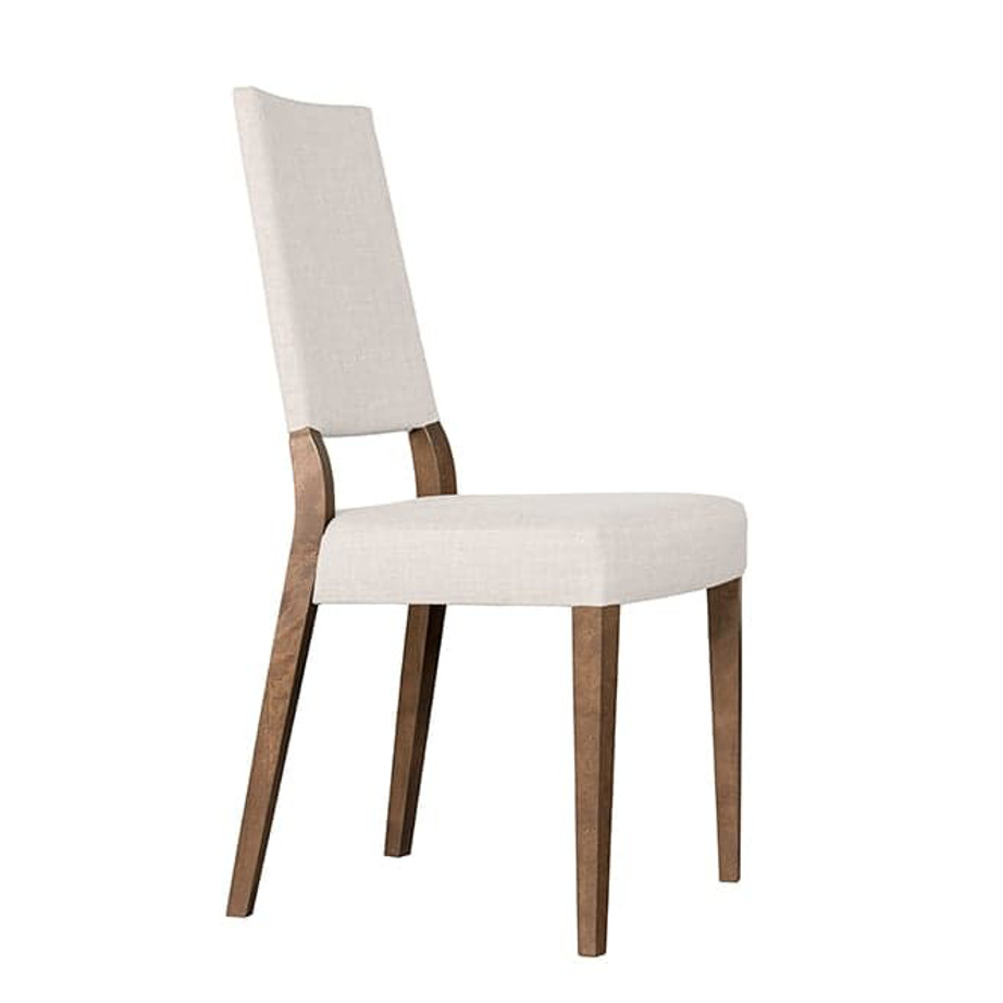 Dining Room, Chairs, birch, contemporary, custom chair, dining, fabric, made in canada, modern, parsons, solid wood, verbois, walnut, simple, dining room ideas, fabric, simple, unique, Ana Dining Chair