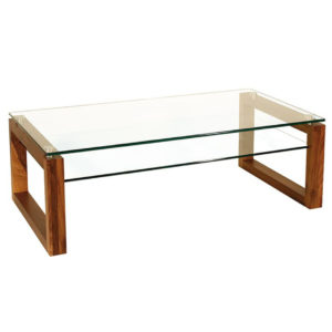 Occasional, End Table, Accents, Accent Furniture, birch, contemporary, made in canada, mid century, modern, solid wood, walnut, living room ideas, unique, modern, verbois, custom stain, simple, Living Room, coffee table, glass, glass shelf, rectangle, square, Bill Coffee Table