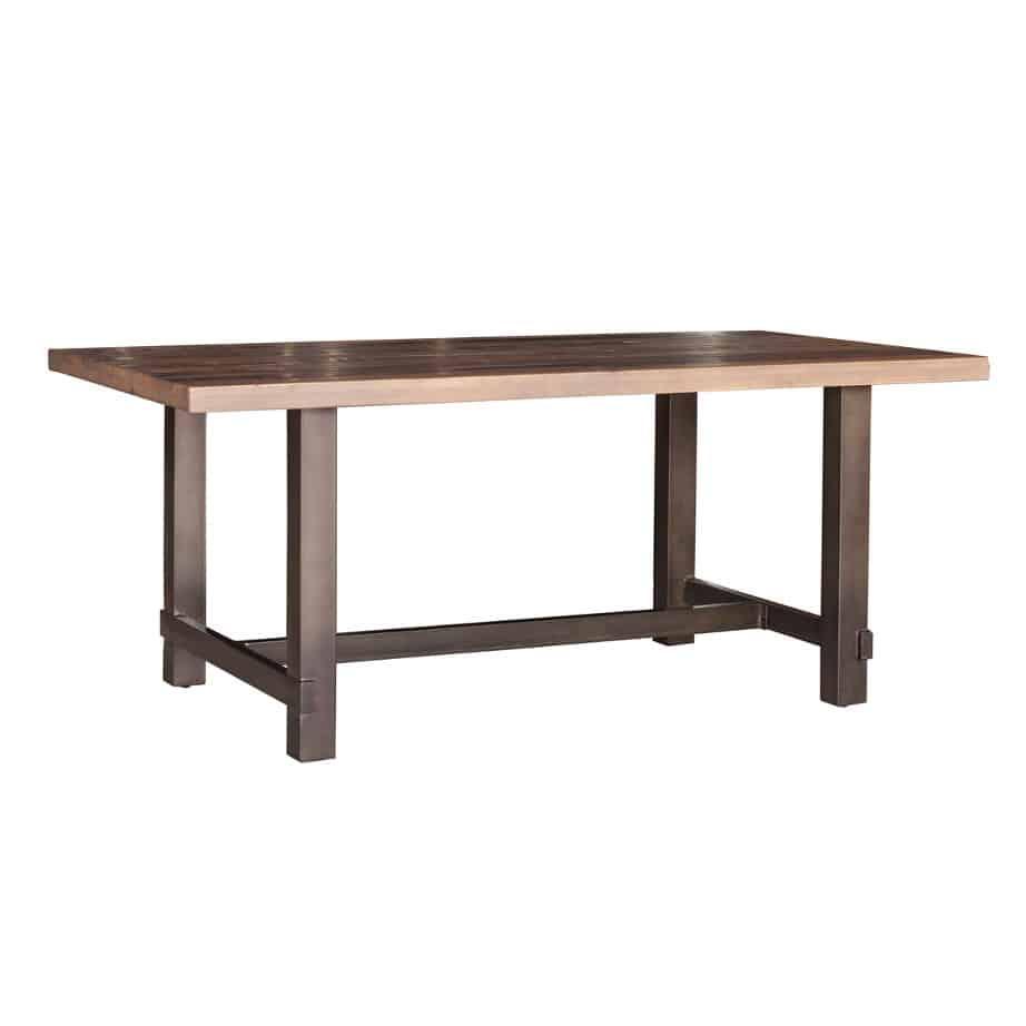 Cruz Reclaimed Table Home Envy Furnishings Solid Wood Furniture Store