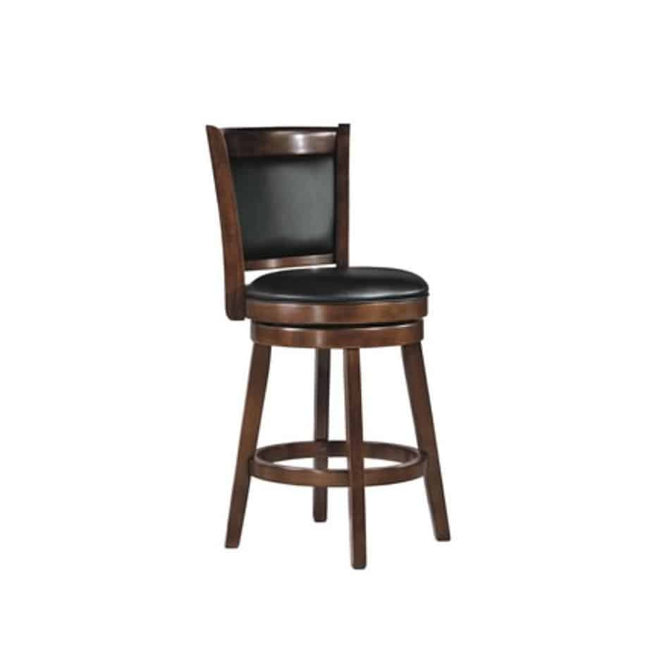 Vinyl Back Stool, Stool Vinyl A, Porter Stool, vinyl, swivel, bar, counter, island, pub, kitchen, edmonton, sherwood park, maple ridge