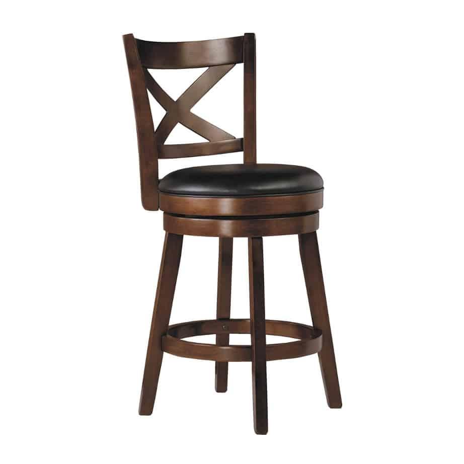 Porter X Back Stool, Porter Stool, vinyl, swivel, bar, counter, island, pub, kitchen, edmonton, sherwood park, maple ridge