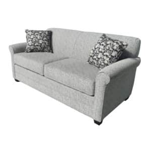 elite sofa, love seat, custom sofa, made in canada, custom sofa, fabric, modern, traditional, Victoria Sofa, rolled arm, solid back